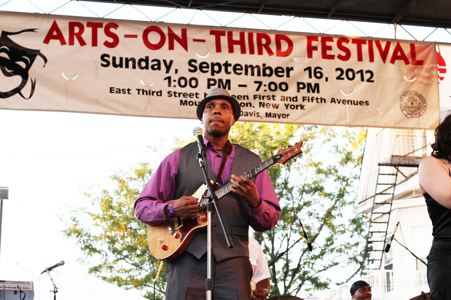Eve Soto Playing Live @ Arts On Third Mount Vernon Sept. 16th