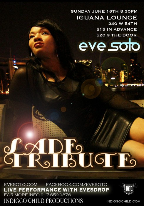 EVE SOTO SADE TRIBUTE