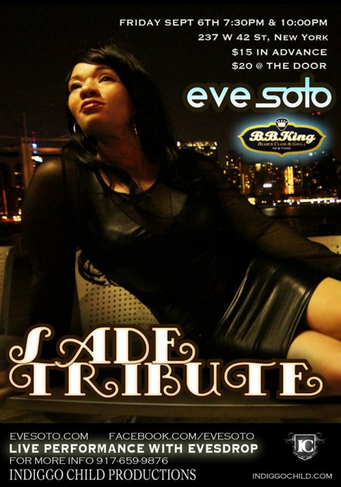eve soto tribute bbkings